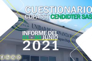 Informe cuestionario COPASST 01 – 30 de Junio del 2021